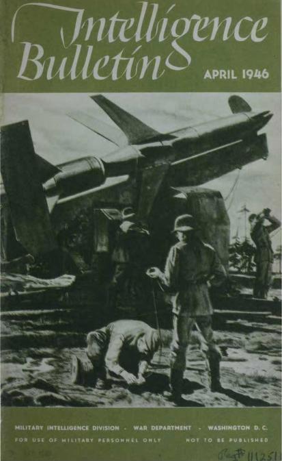 United States. War Department - 1946-04 Intelligence Bulletin