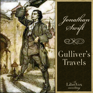 Gulliver's Travels(693) by Jonathan Swift audiobook cover art image on Bookamo