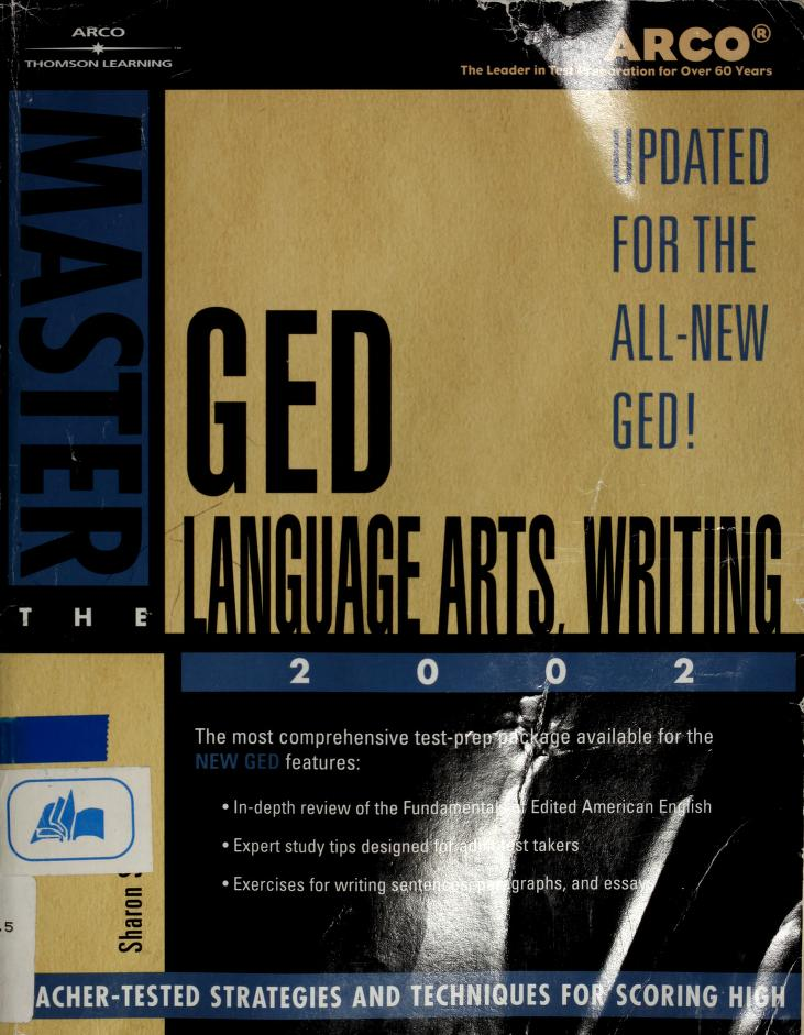 Master the GED by Sharon Sorenson