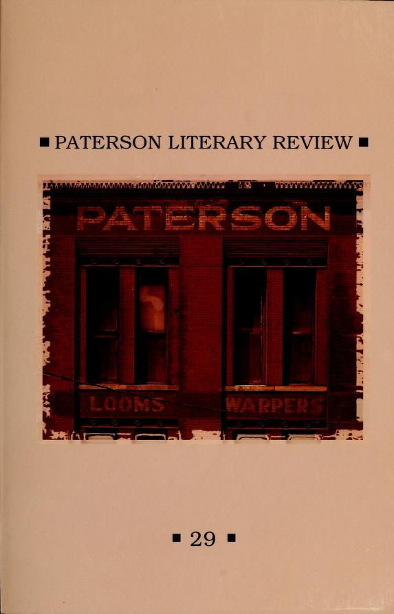 Paterson literary review by Passaic County Community College