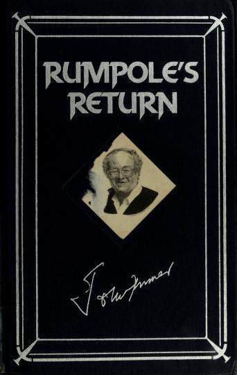 Cover of: Rumpole's Return | John Mortimer
