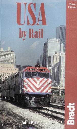 Cover of: USA by rail | John Pitt