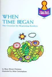 Cover of: When time began   Mary Blount Christian